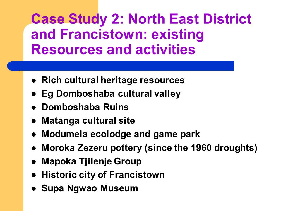 Supa-Ngwao Museum Francistown, Cultural Heritage Tourism: A Potential Adaptation Strategy to ...