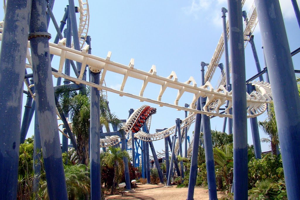 Superland Rishon LeZion, Panoramio - Photo of Israel. Superland Amusement Park in Rishon LeZion