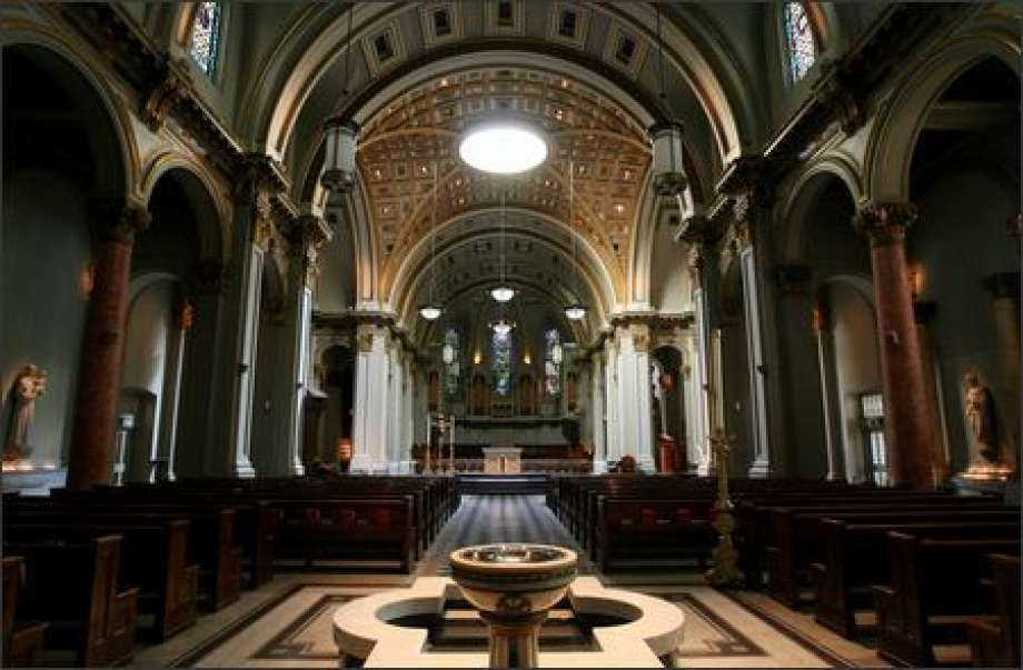Suzzallo Library Seattle, St. James Cathedral celebrates 100 years - seattlepi.com