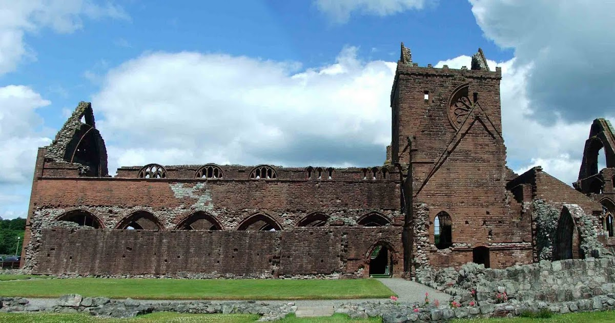 Sweetheart Abbey The Borders and the Southwest, The castles, towers and fortified buildings of Cumbria: Sweetheart ...