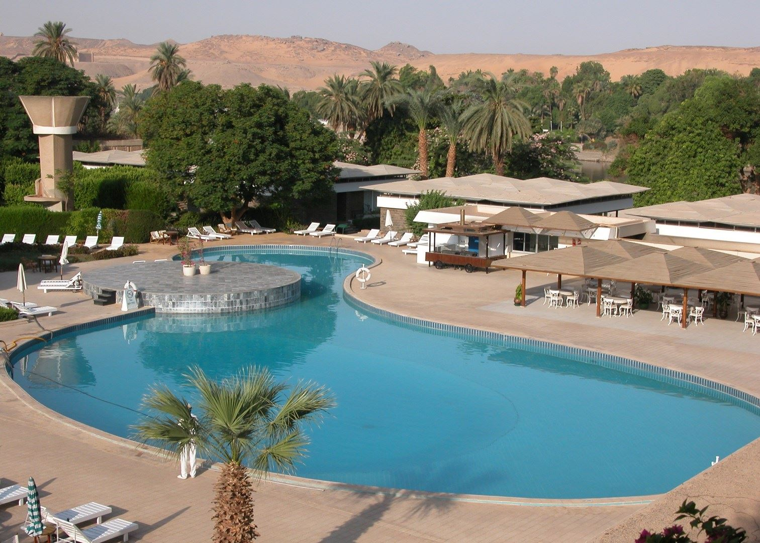 Swimming Beach Aswan, Movenpick Aswan | Hotels in Aswan | Audley Travel