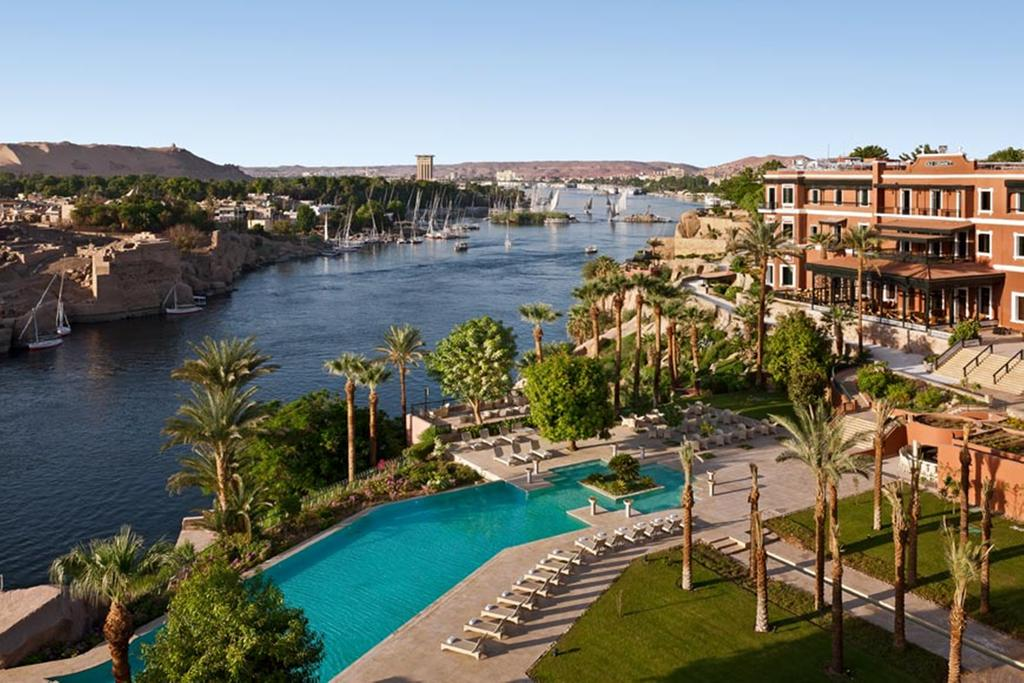 Swimming Beach Aswan, Hotel Sofitel Legend Old Cataract, Aswan, Egypt - Booking.com