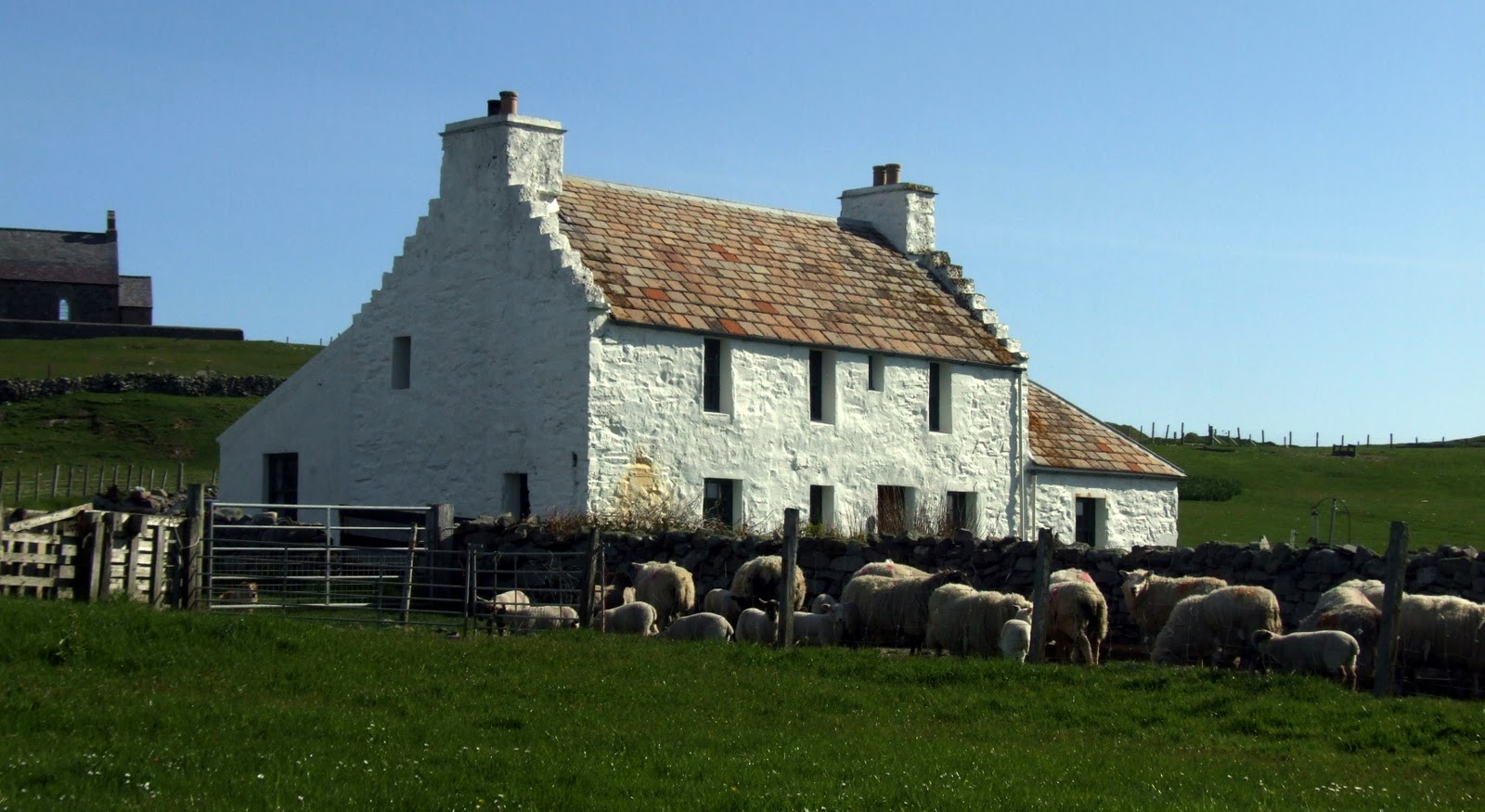 Tangwick Haa Museum Orkney and Shetland Islands, Fair Isle: Auld Haa Guesthouse