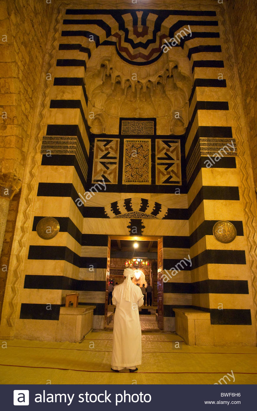 Taynal Mosque Tripoli, Inside the Mamluk era Taynal Mosque, Tripoli, LEBANON Stock Photo ...