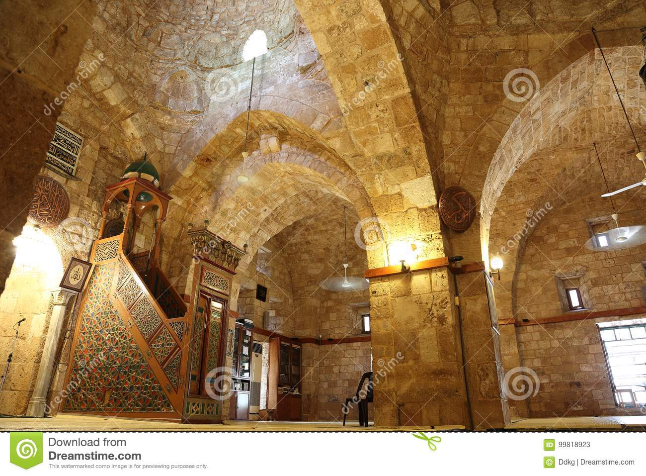 Taynal Mosque Tripoli, Taynal Mosque, Tripoli, Lebanon Stock Photo - Image: 99818923