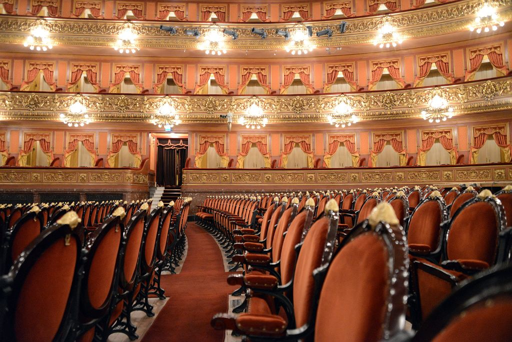Teatro Colón Buenos Aires, 38 Floor Seats And First Three Rings Teatro Colon Buenos Aires