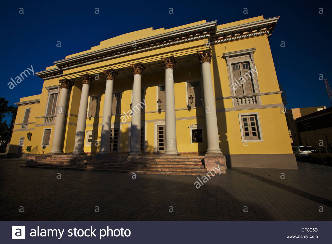 Teatro La Perla Ponce, Teatro la Perla restored greek revival theater in Ponce Puerto ...
