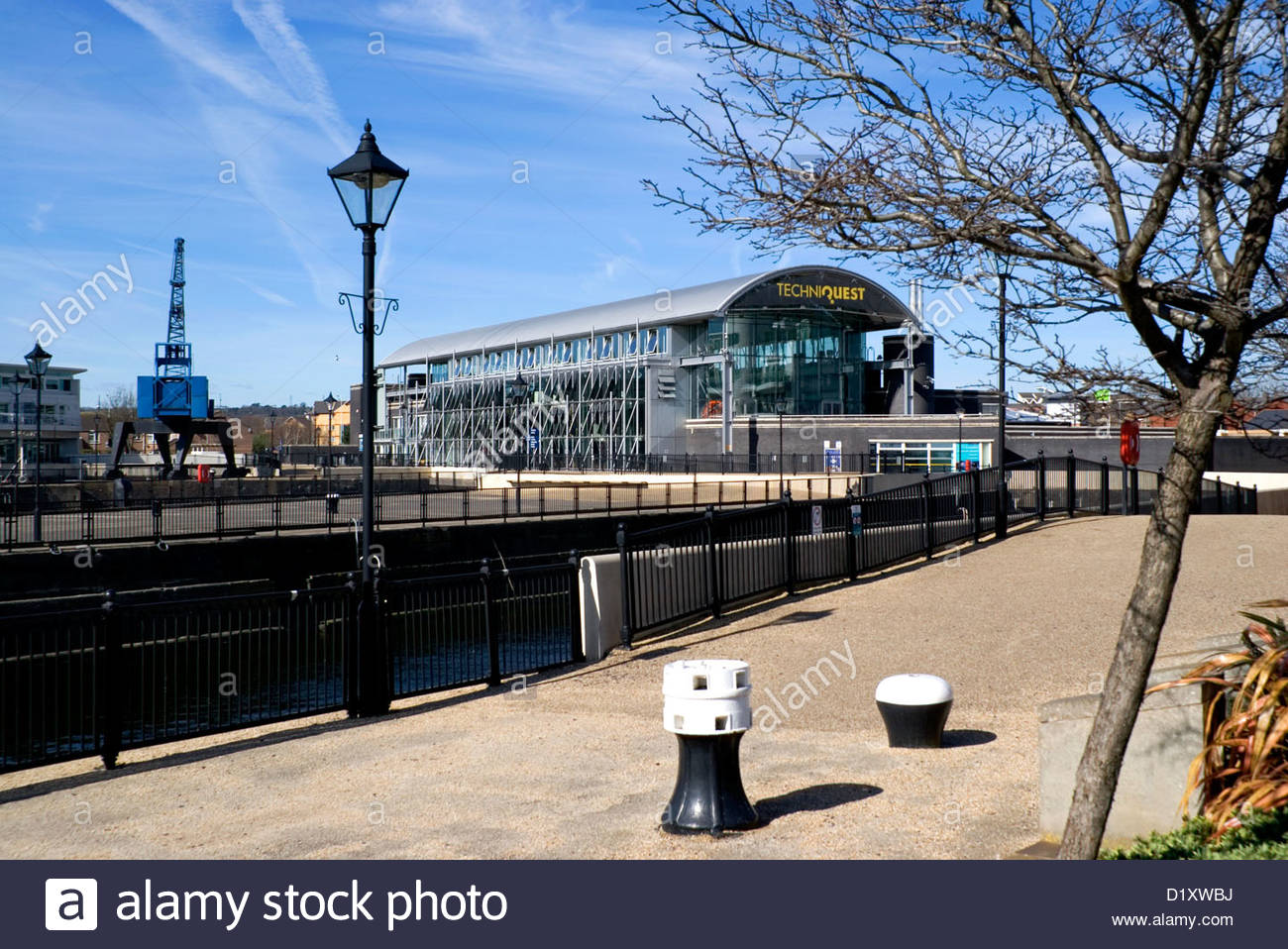 Techniquest South Wales, techniquest cardiff bay south wales uk Stock Photo, Royalty Free ...