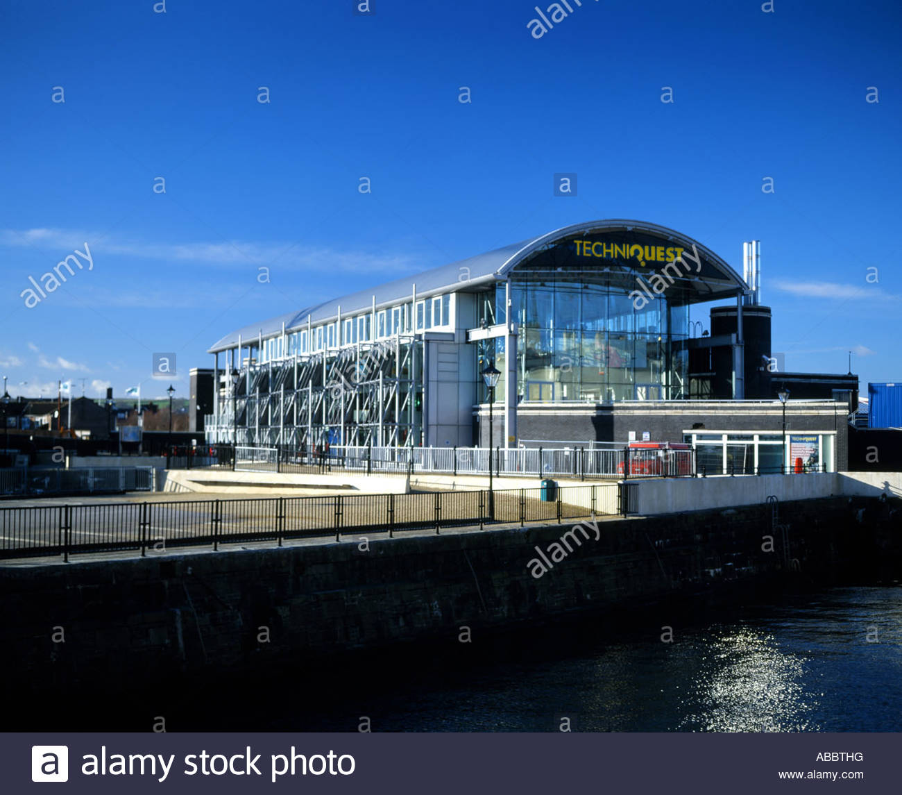Techniquest South Wales, techniquest cardiff bay cardiff south wales uk Stock Photo ...
