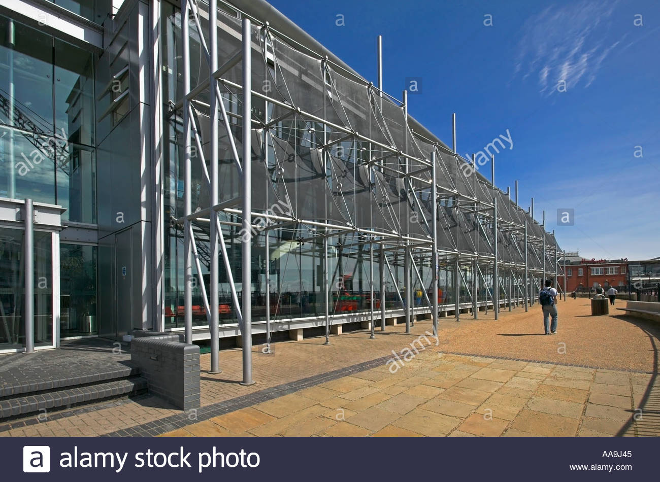 Techniquest South Wales, Techniquest Building Cardiff Bay South Wales Stock Photo, Royalty ...