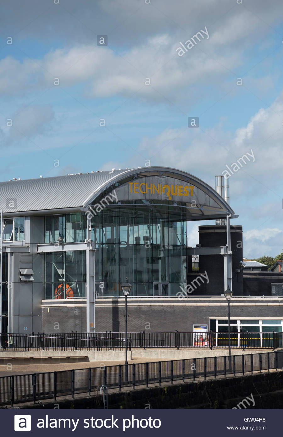 Techniquest South Wales, Techniquest Science Museum at Cardiff Bay, South Wales Stock Photo ...