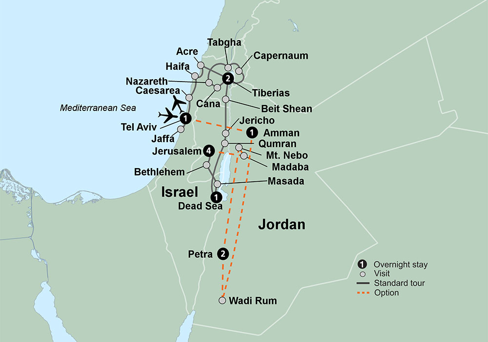 Genesis Land Around Jerusalem and the Dead Sea, Iconic Israel | Travel Tours | Collette