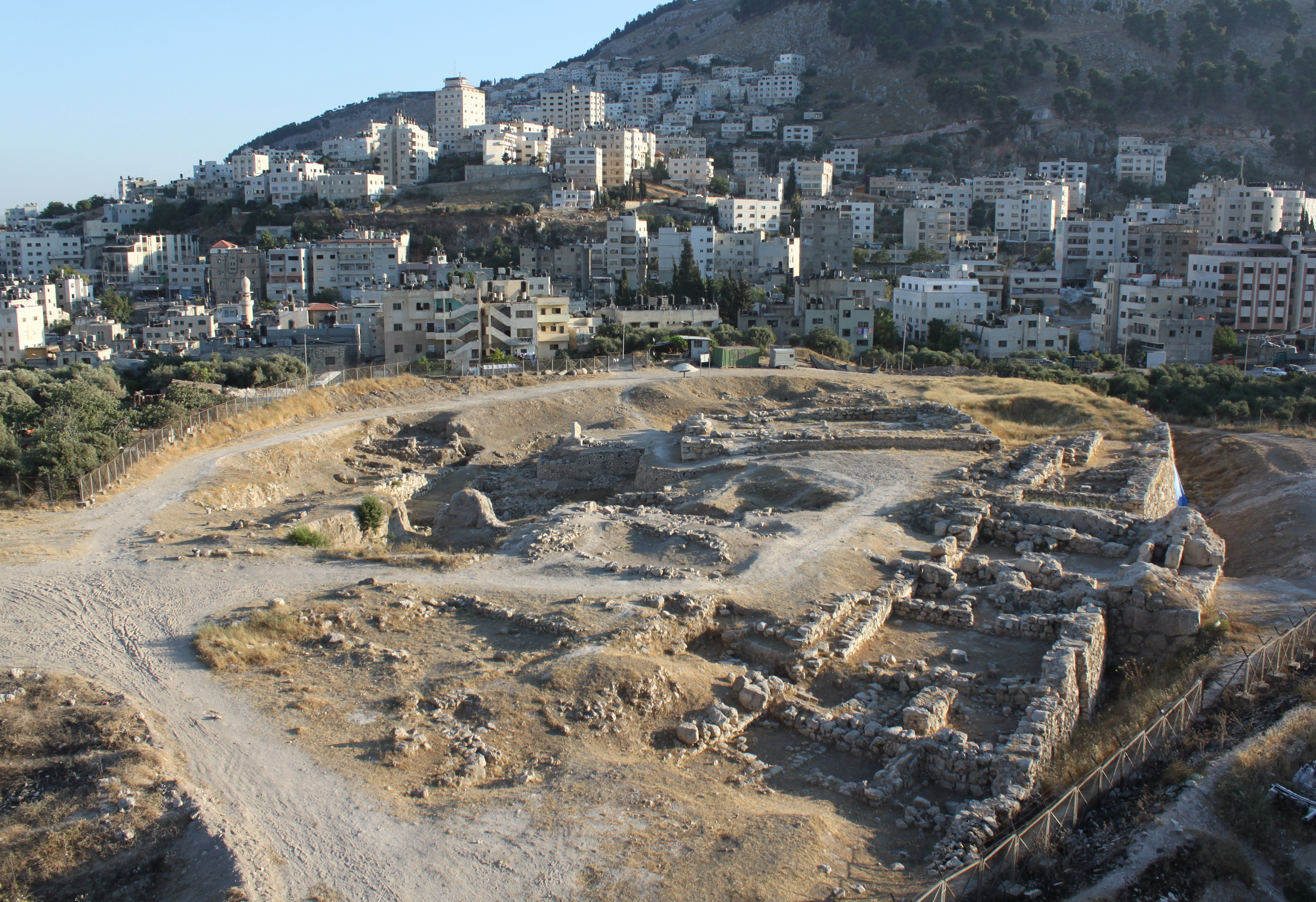 Tell Balata Archaelogical Park Nablus, knafeh | Search Results | TRAVEL PALESTINE