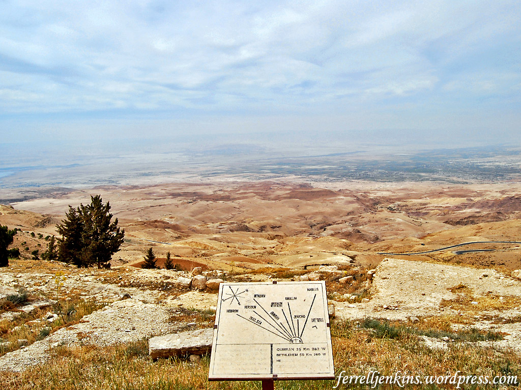 Tell Hesban Mt Nebo, The view from Mount Nebo | Ferrell's Travel Blog