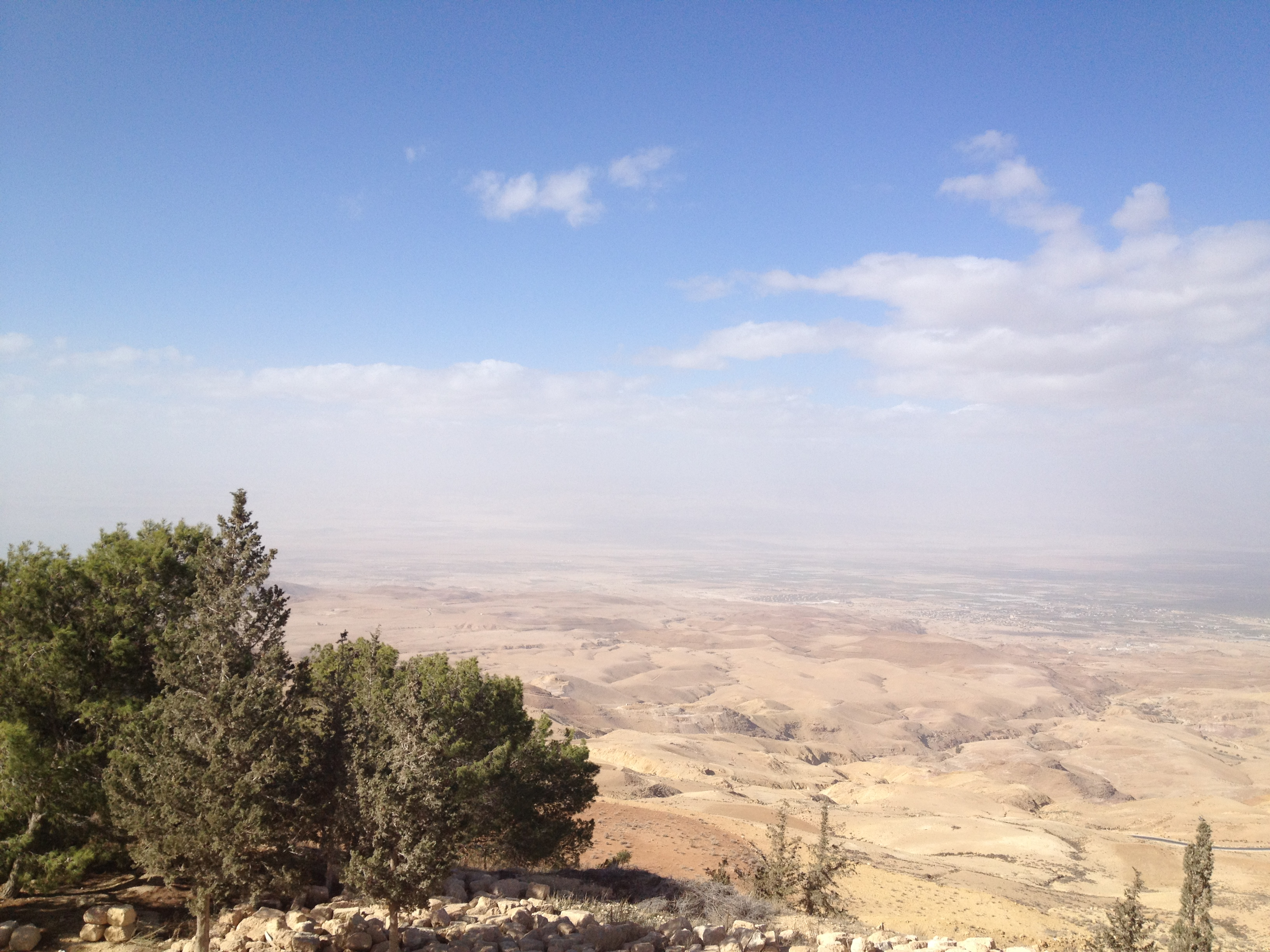 Tell Hesban Mt Nebo, Taking in the view from Mount Nebo, Jordan - The Inside Track