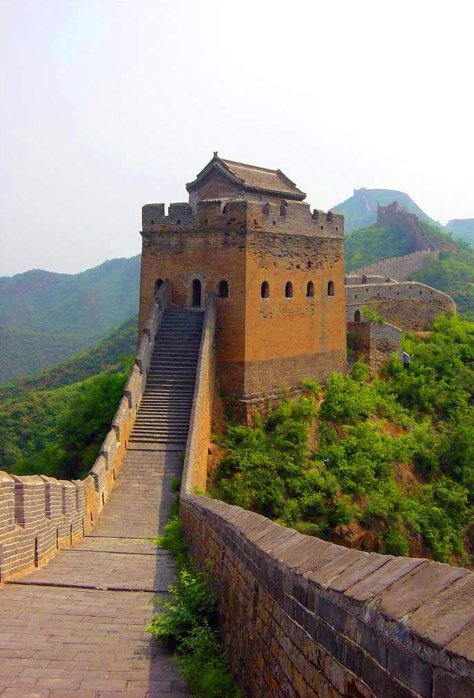 Buddhist Temple of the Sea of Wisdom Běijīng, Watchtower at Simatai Great Wall picture, Beijing pictures, China ...