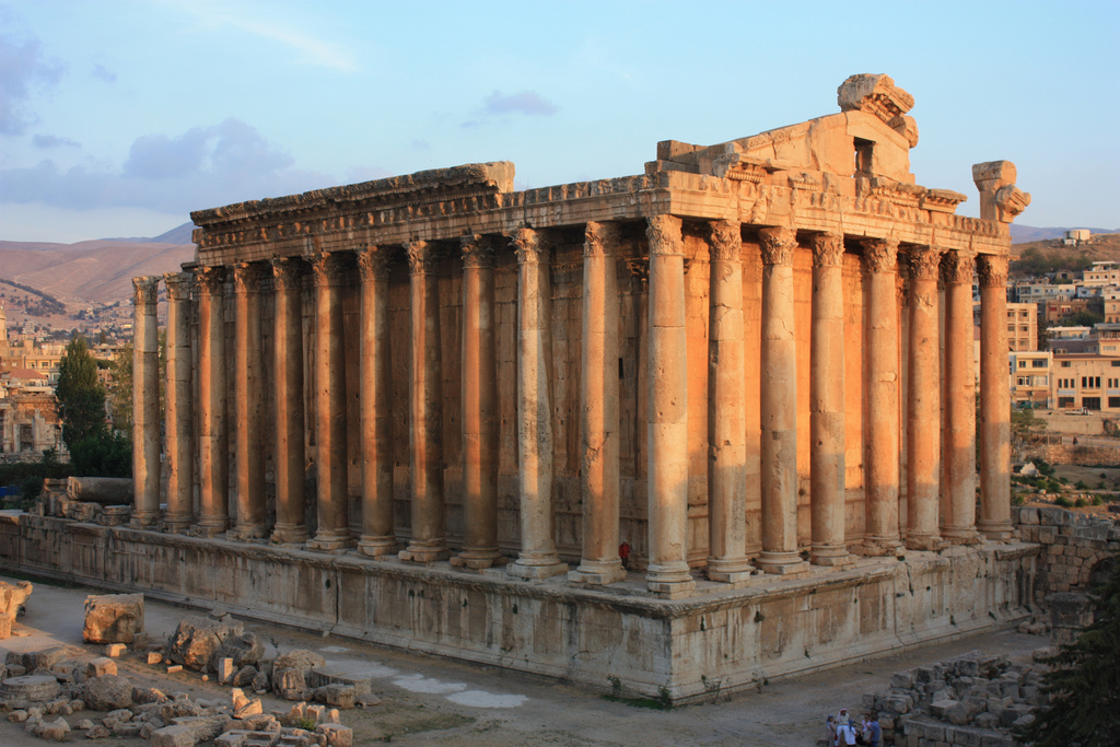 Temple of Jupiter Baalbek, Baalbek, Temple of Bacchus | Baalbek, Temple of Bacchus Baal… | Flickr