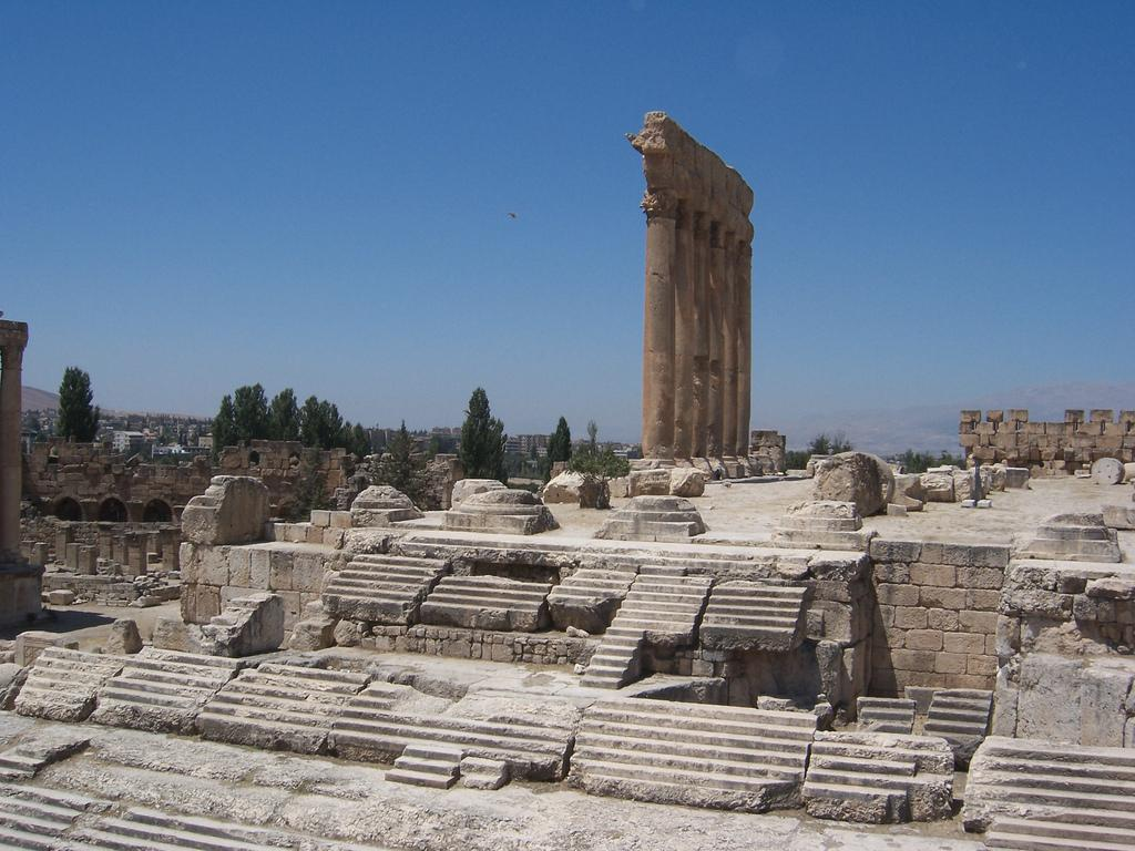 Temple of Jupiter Baalbek, Temple of Jupiter, Baalbek