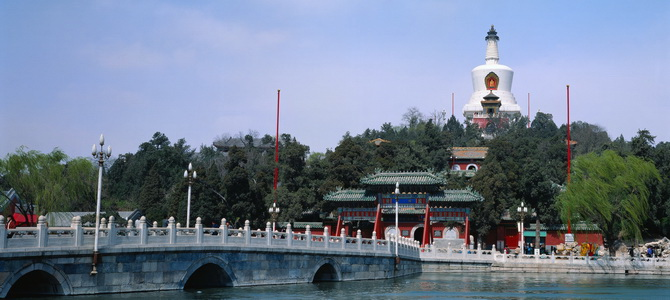 Temple of the White Pagoda Beijing, Visit White Pagoda Temple, white dagoba of Miaoying temple, things ...