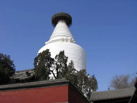 Temple of the White Pagoda Beijing, Beijing White Pagoda Temple, Beijing Attractions - Beijing China ...