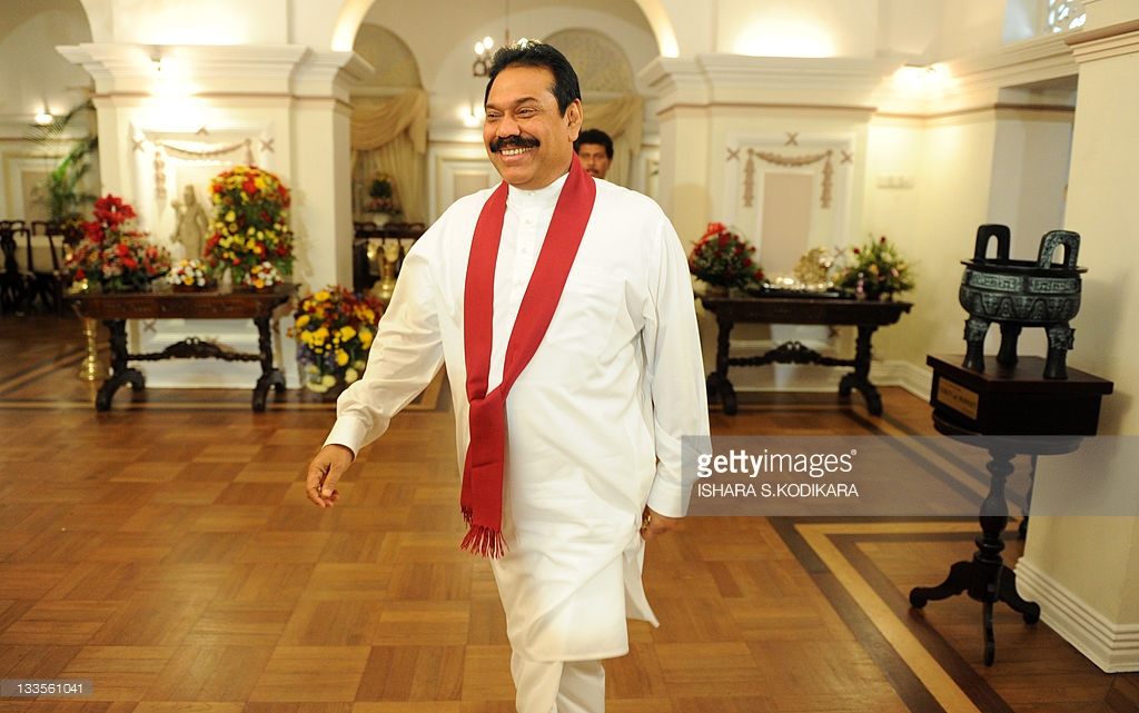 Temple Trees Colombo, Sri Lankan President Mahinda Rajapakse a Pictures | Getty Images