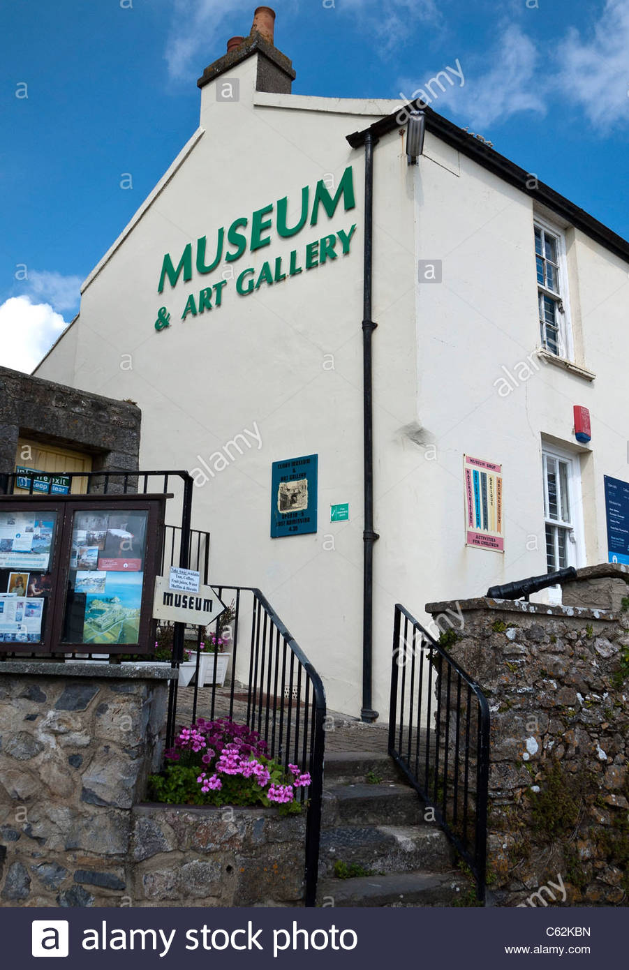 Tenby Museum and Art Gallery South Wales, Tenby Museum & Art Gallery Stock Photo, Royalty Free Image ...