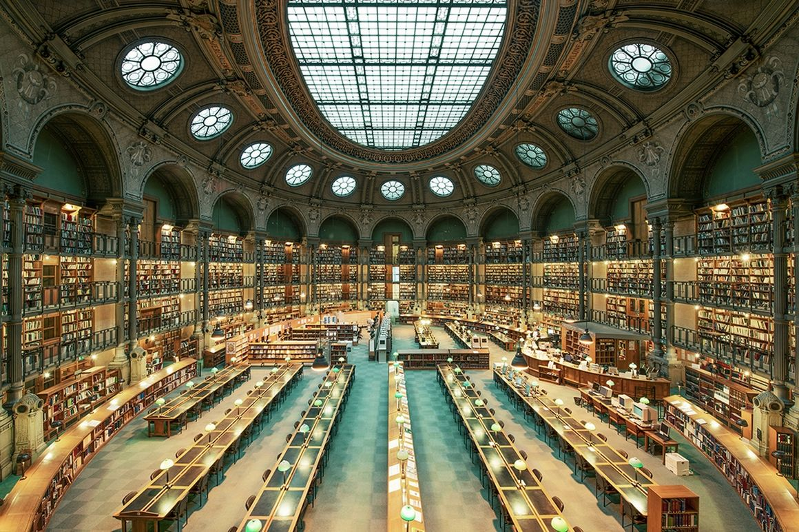 Tenniseum Paris, Photograph: BIBLIOTHÈQUE NATIONALE DE FRANCE, Franck Bohbot ...