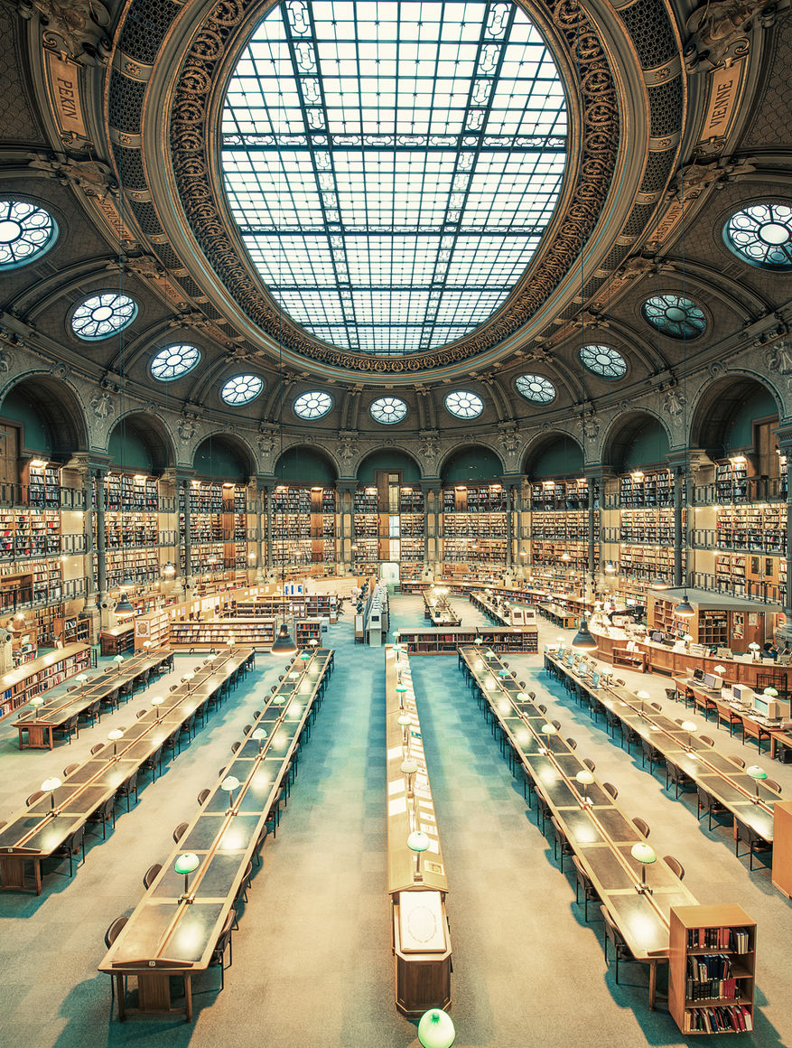 Tenniseum Paris, Photograph: Bibliothèque Nationale de France II, Franck Bohbot ...