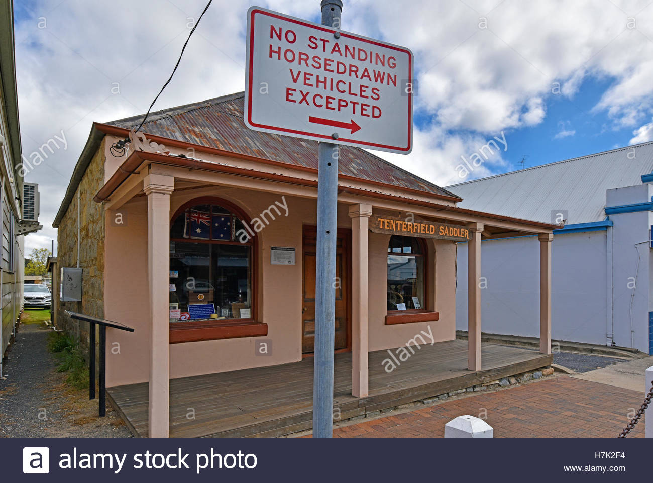 Tenterfield Saddler Tenterfield, the tenterfield saddlery building the inspiration for the peter ...