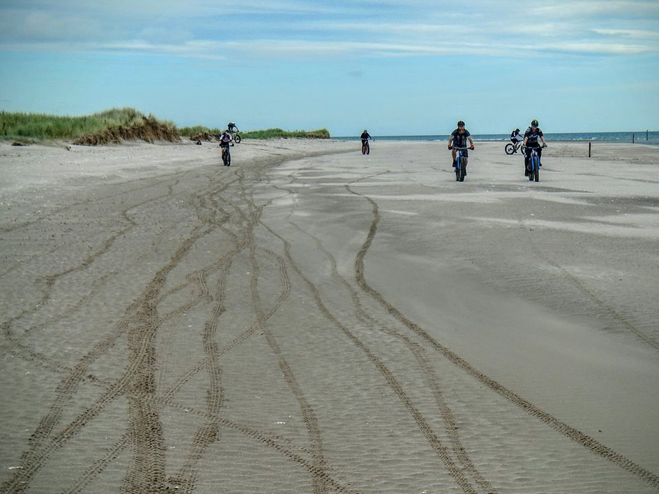 Tentsmuir Forest and Beach Fife and Angus, coastrider: Angus Cycling Festival Fatbike ride; Tentsmuir Forest ...