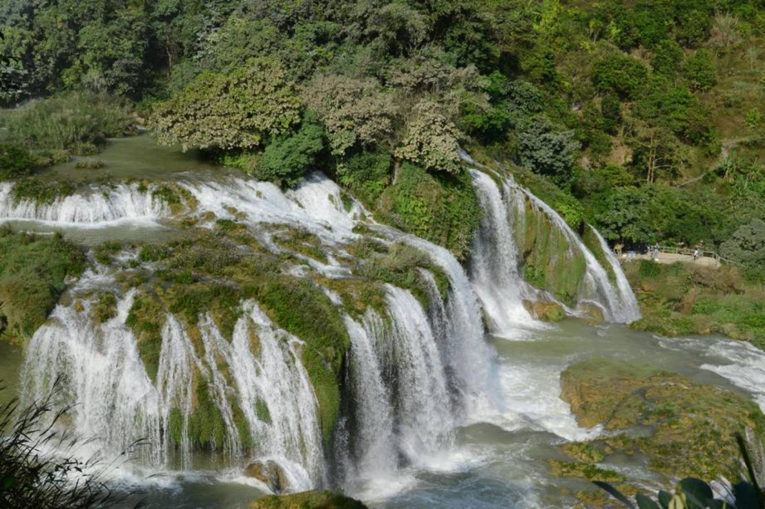 Thai Giang Pho Waterfall The Northwest, The Adventurous Ba Be - Ban Gioc - Ha Giang Tour 5D4N (Private ...