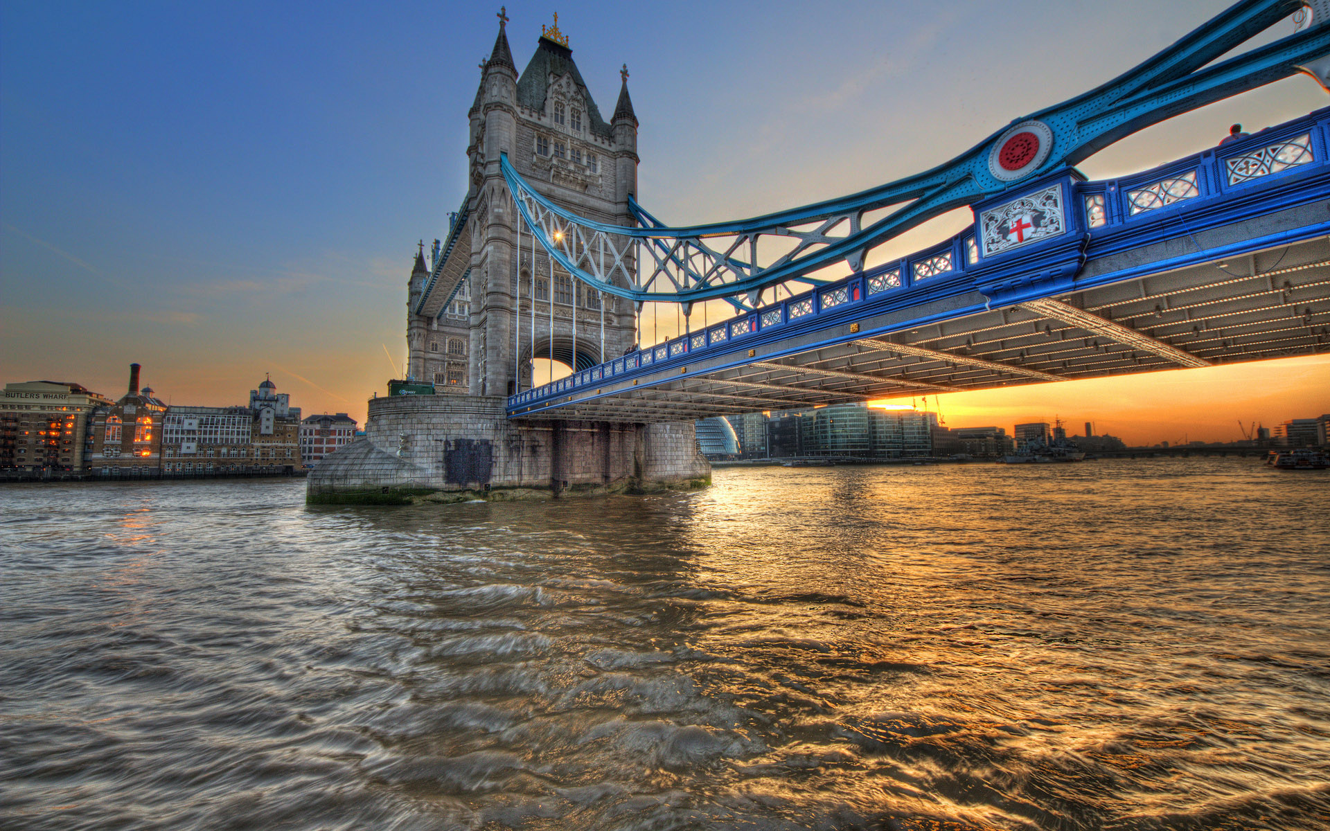 Thames River London, Wallpaper bridge, london, thames, river, tower bridge, england ...