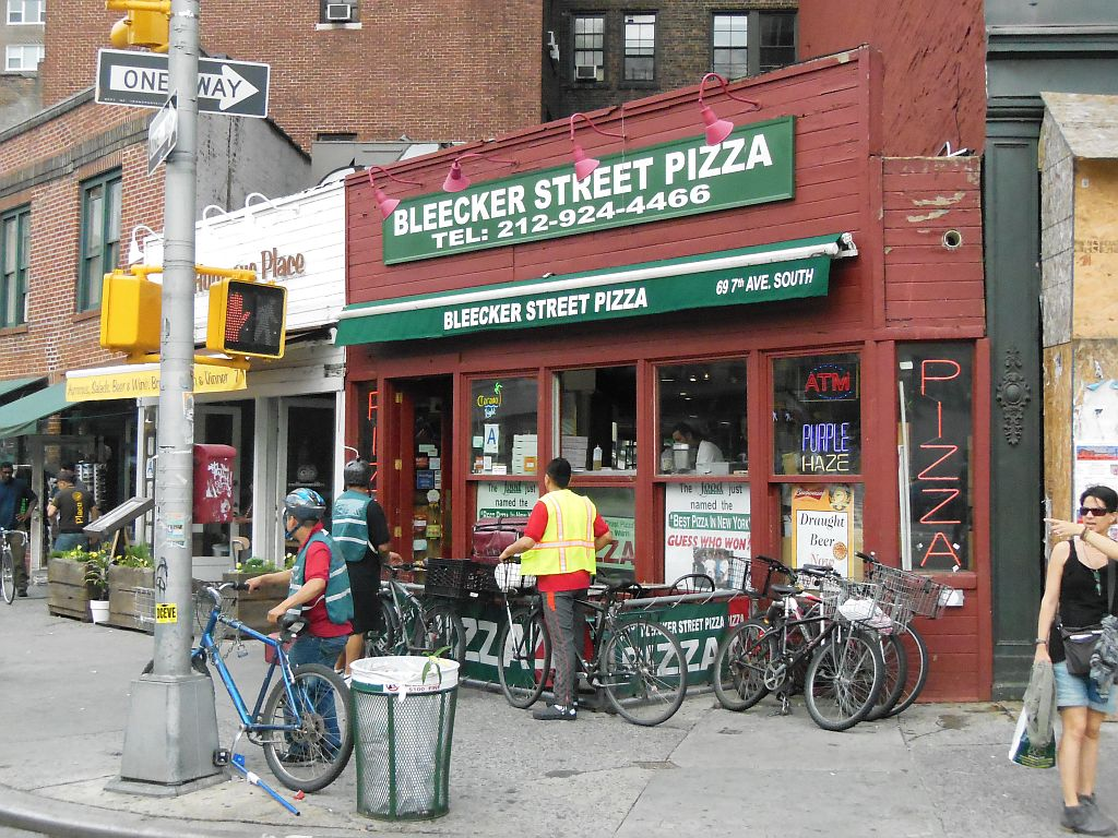 The Cyclone  New York City, Manhattan's Bleecker Street Pizza – Another Page from the Classic ...