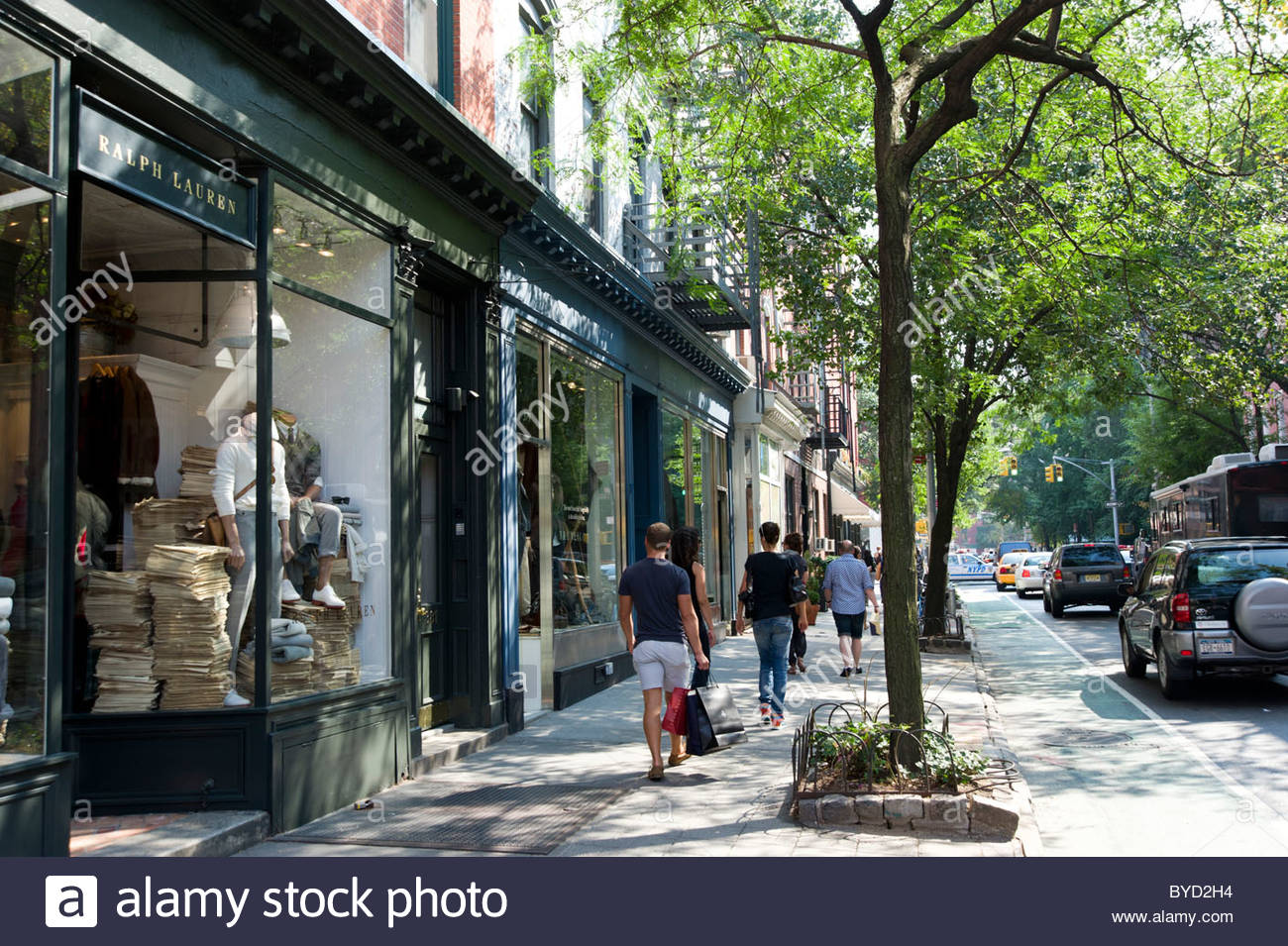 The Cyclone  New York City, Bleecker Street in Greenwich Village, New York City, USA Stock ...