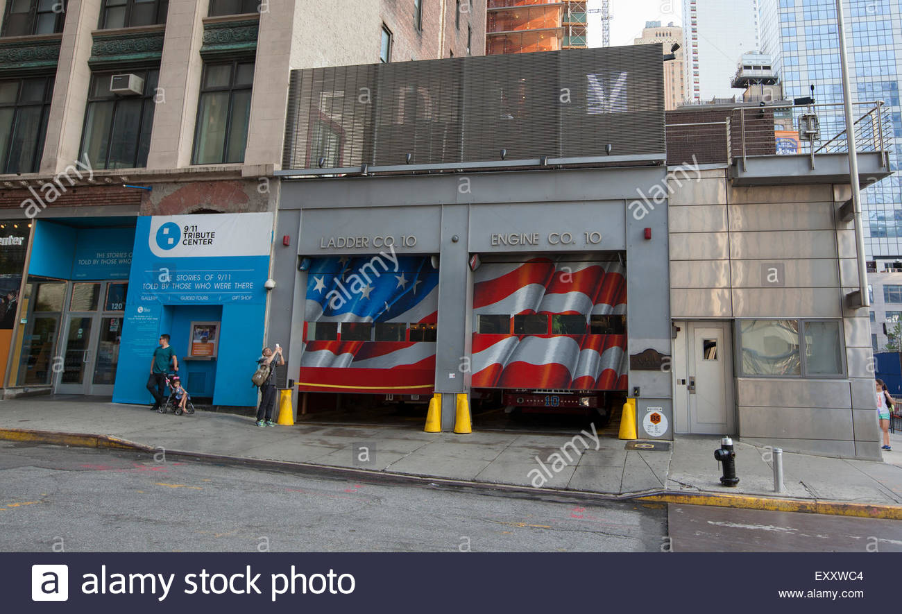 The Daily Show with Jon Stewart New York City, NEW YORK - May 30, 2015: FDNY Ten House, Engine Company 10 and ...