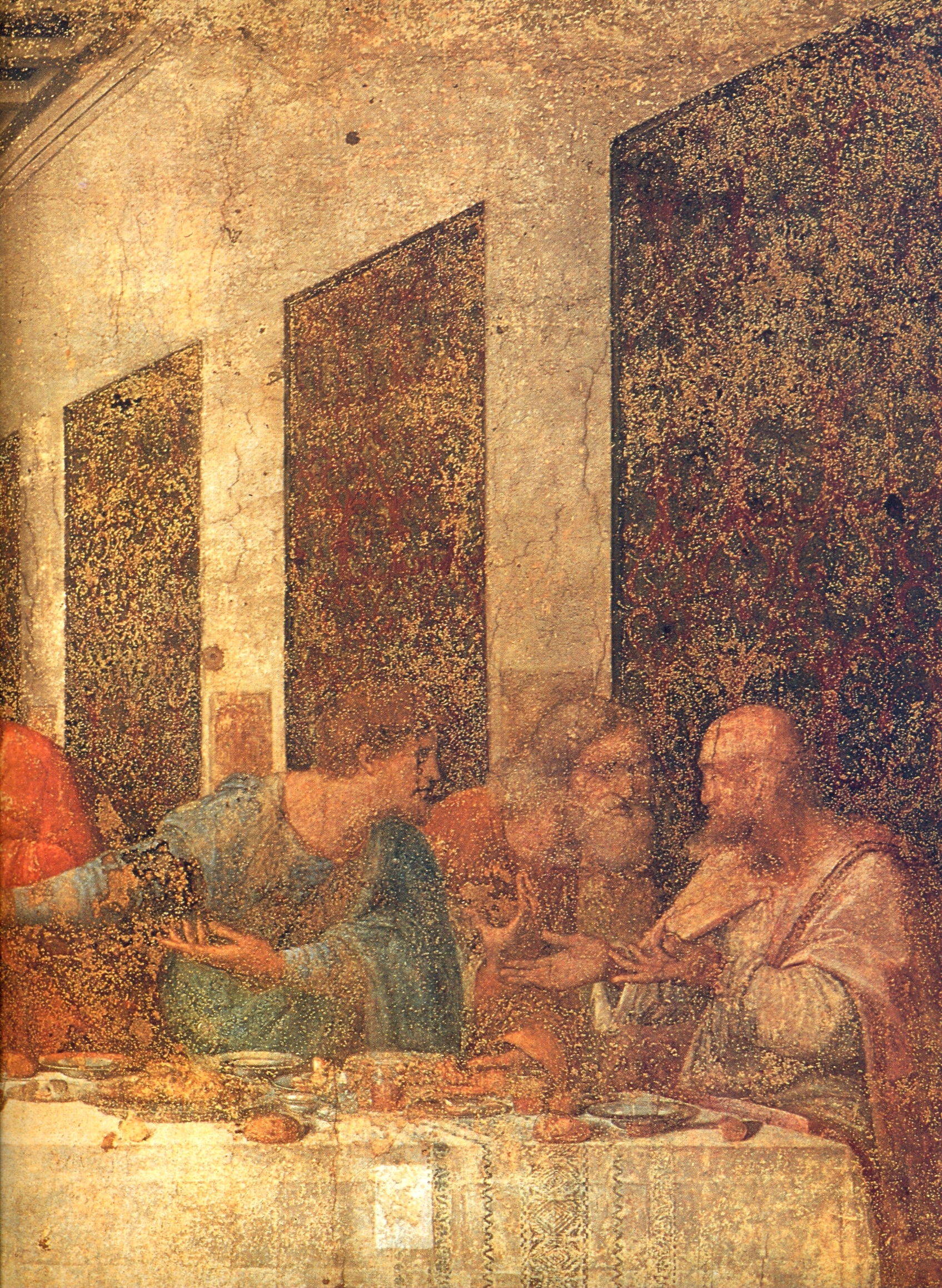 The Last Supper/Il Cenacolo/Santa Maria delle Grazie Milan, The Last Supper Il Cenacolo or L'Ultima Cena, is a late 15th ...