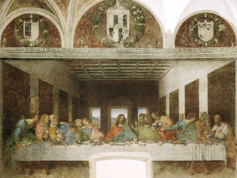 The Last Supper/Il Cenacolo/Santa Maria delle Grazie Milan, Santa Maria delle Grazie with The Last Supper - UNESCO World ...