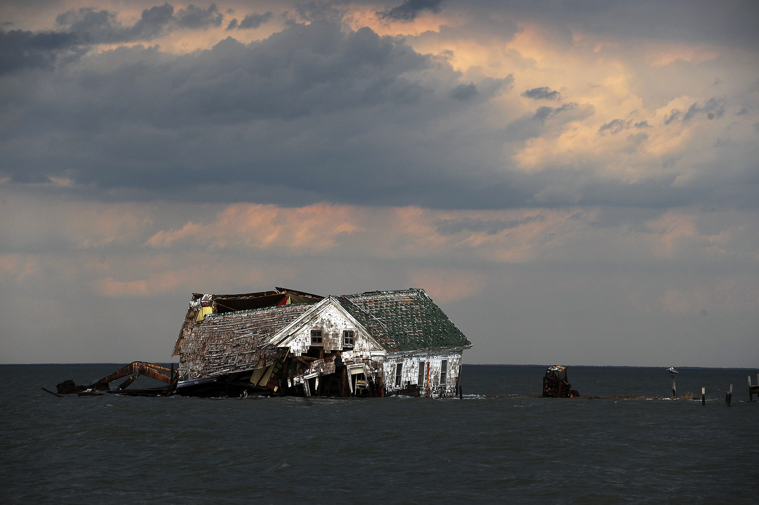 The Patriot The Eastern Shore, Smith Island Is Sinking Into the Chesapeake Bay Thanks to Climate ...