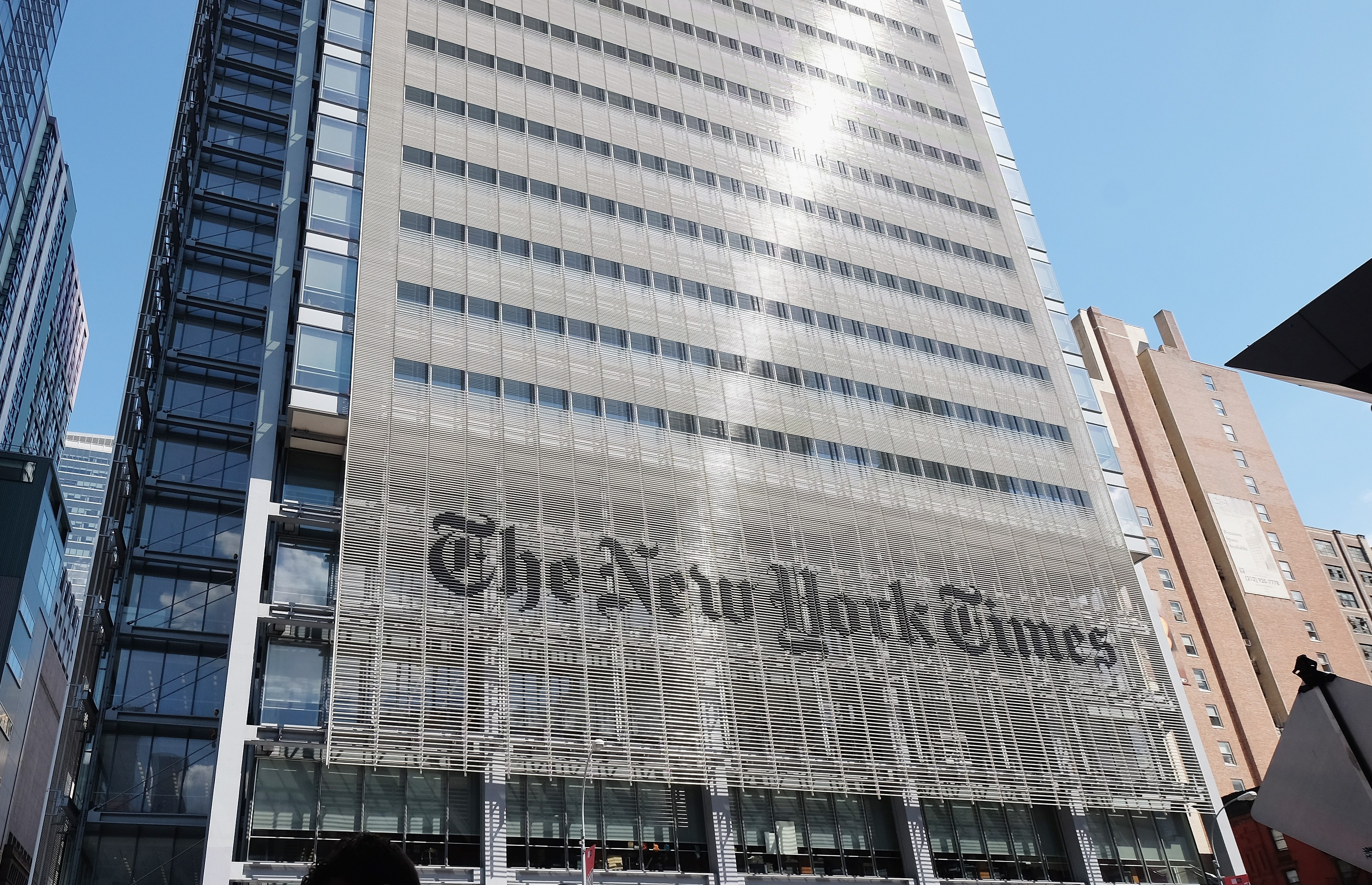 The Tonight Show Starring Jimmy Fallon New York City, New York Times to Vacate 8 Floors From Its Building to Generate ...