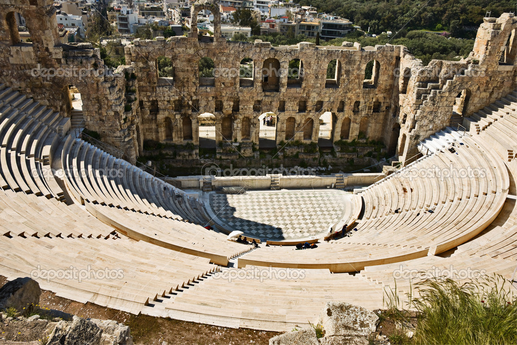 Theater of Dionysus Athens, The Theatre of Dionysus - ThingLink