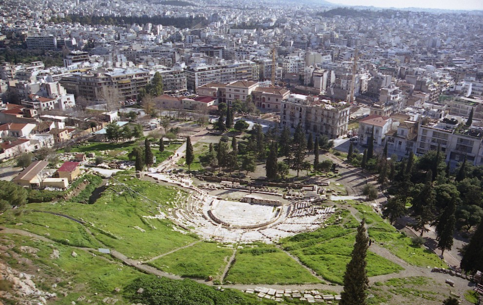 Theater of Dionysus Athens, Dionysus Theatre History, Facts, Picture & Location -