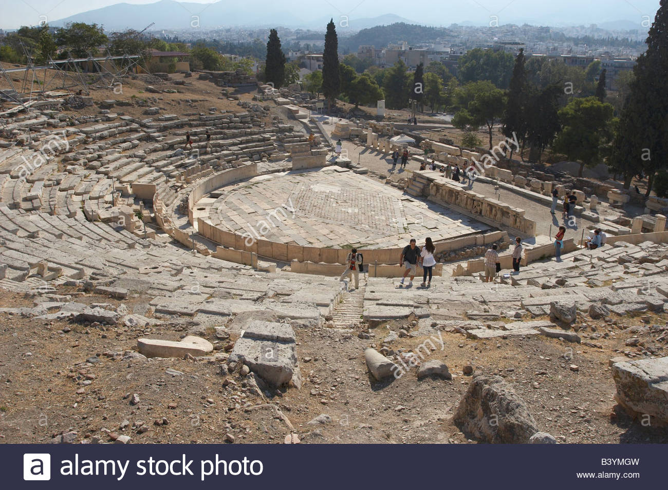 Theater of Dionysus Athens, Theatre of Dionysus Stock Photo, Royalty Free Image: 19663193 - Alamy