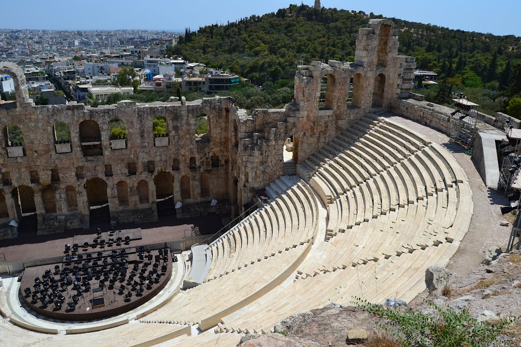 Theater of Dionysus Athens, Panoramio - Photo of Theatre of Dionysus Eleuthereus, Athens, Greece