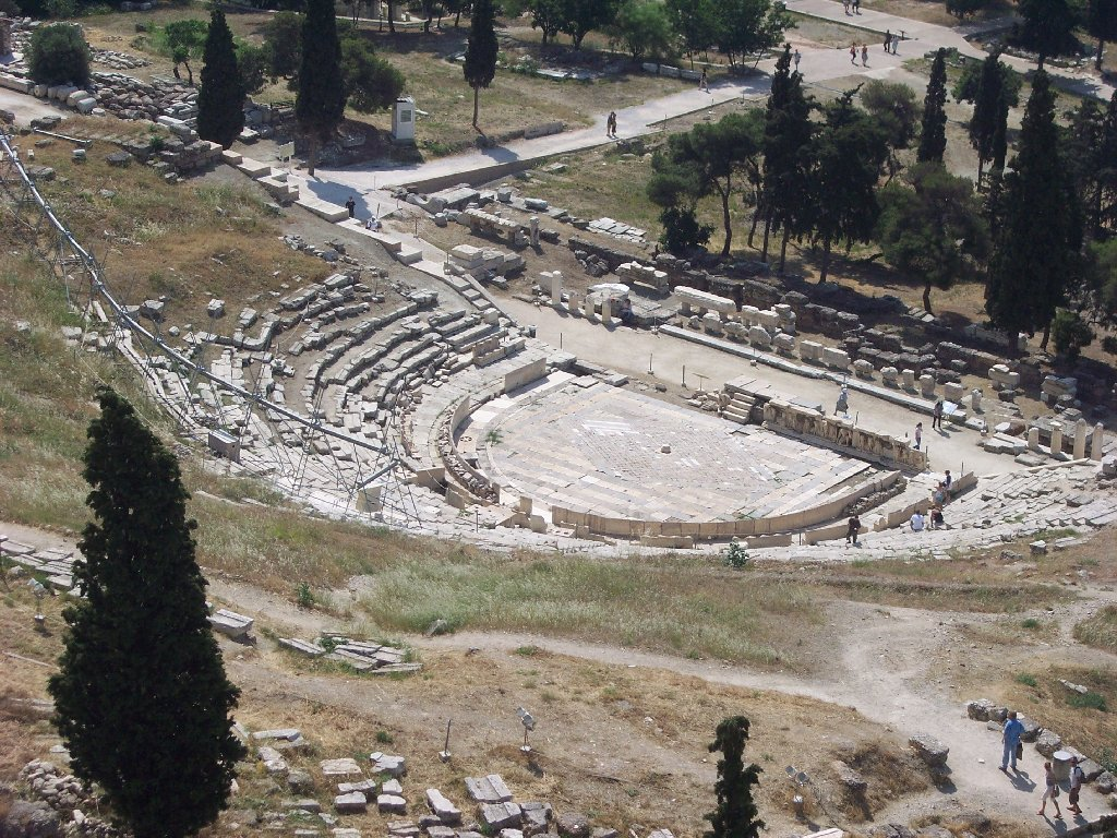 Theater of Dionysus Athens, Greek Theater of Dionysos in Athens | The Core Curriculum