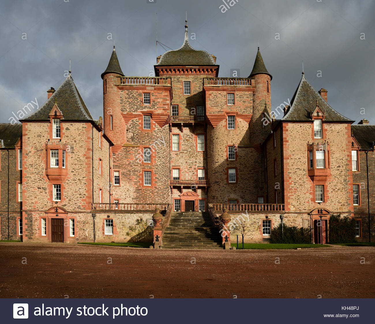 Thirlestane Castle The Borders and the Southwest, Thirlestane Castle Stock Photos & Thirlestane Castle Stock Images ...