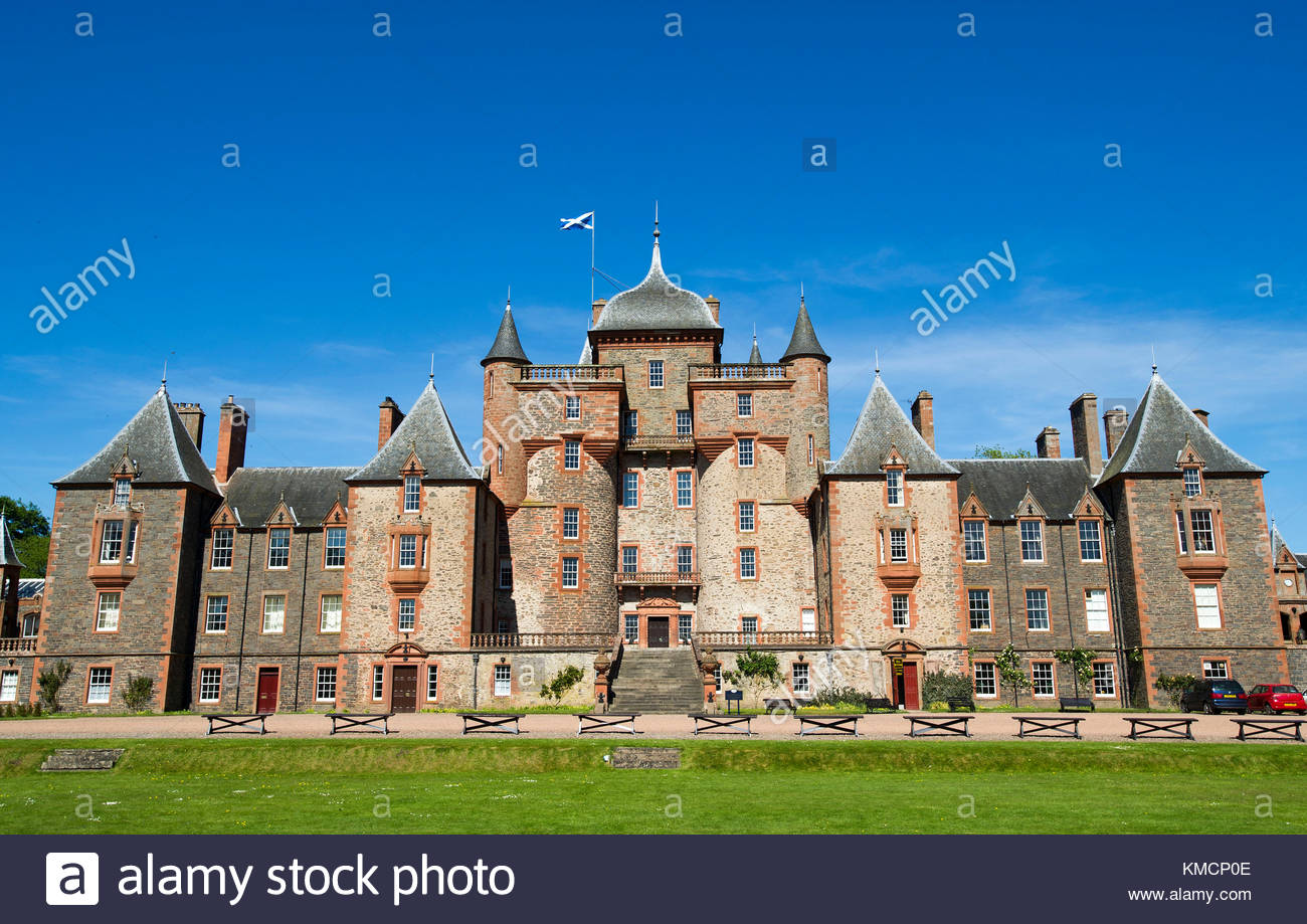 Thirlestane Castle The Borders and the Southwest, Borders Castles Stock Photos & Borders Castles Stock Images - Alamy