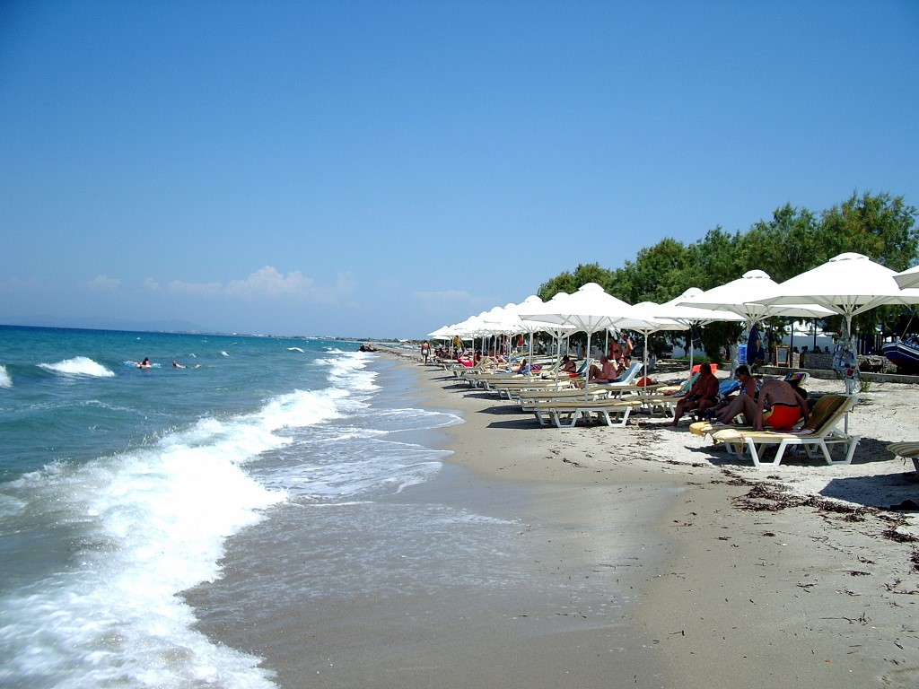 Tigaki Beach Rhodes and the Dodecanese, Visit Rhodes | Beaches in Kos