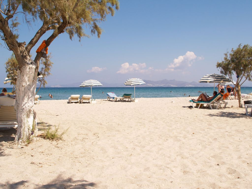 Tigaki Beach Rhodes and the Dodecanese, Cheap Holidays to Tigaki Tingaki - Kos - Greece - Cheap All ...