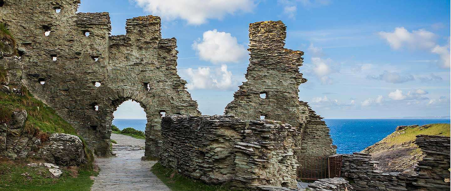 Tintagel Castle Tintagel, History and Legend: Tintagel Castle | English Heritage