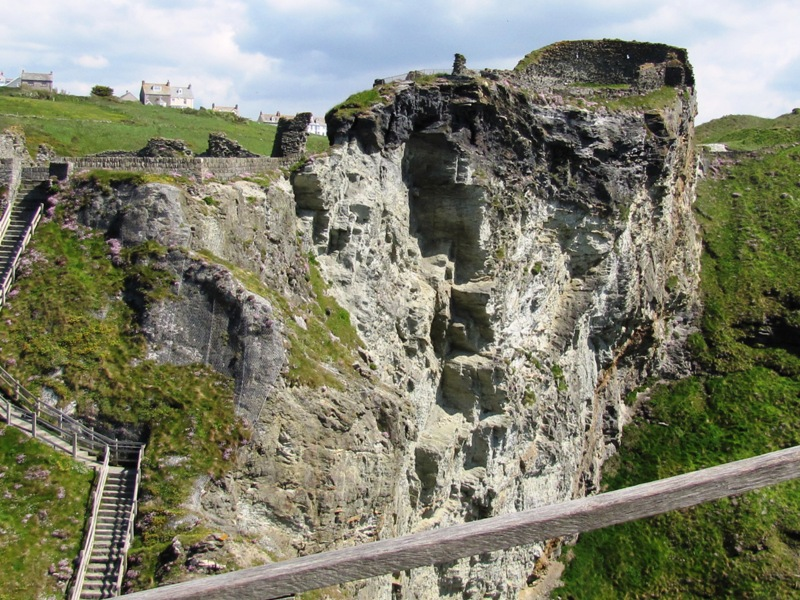Tintagel Castle Tintagel, Tintagel to Trebarwith and Tintagel Castle | Cornwall Walks ...